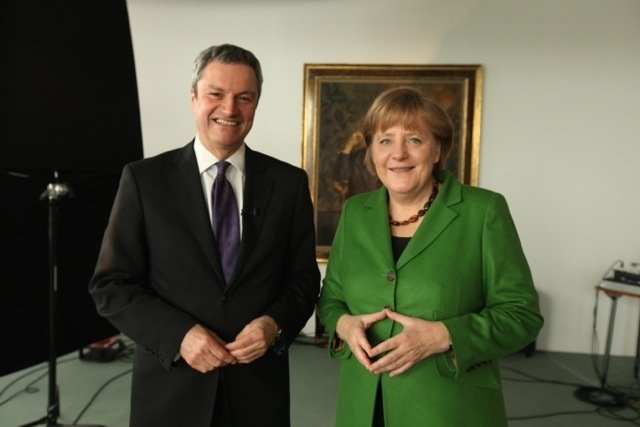 Meeting Angela Merkel