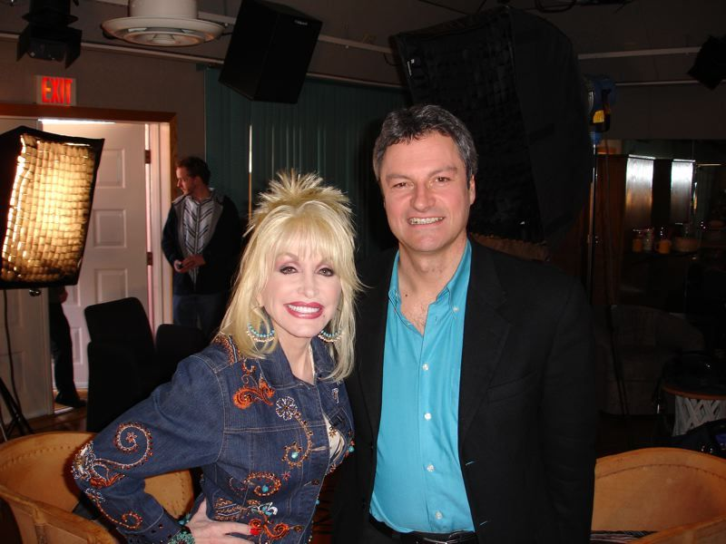 Dolly Parton With Gavin Esler