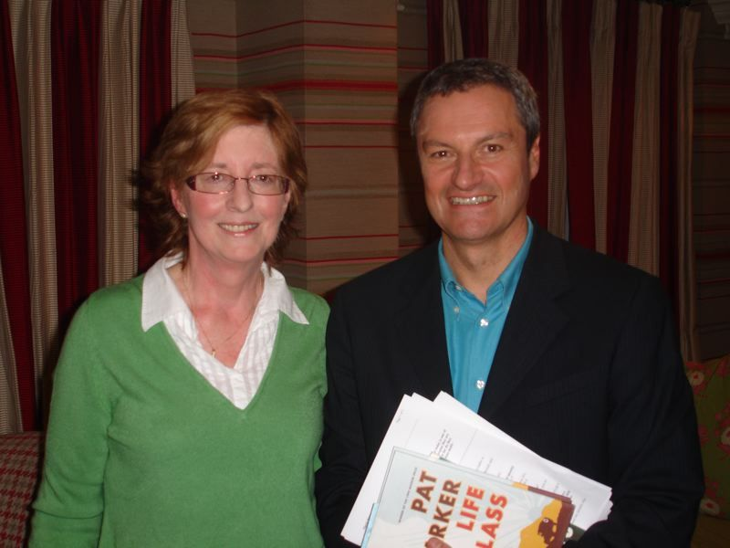 Pat Barker with Gavin Esler