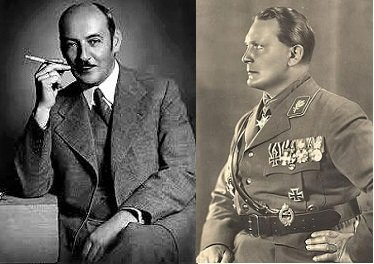 Albert and Hermann Goering